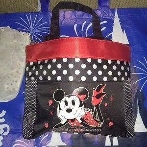 Disney purse with cosmetic bag